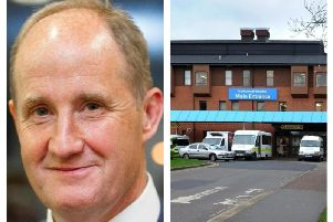 MP Kevin Hollinrake has written a letter to Scarborough Hospital bosses.