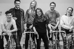 Beryl - the story of cyclist Beryl Charnock - opens at the East Riding Theatre on April 25