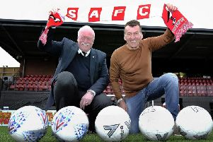 Boro boss John Deacey (right) insists his players can't wait to get going