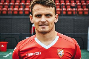Former Boro man Matty Dixon has joined Whitby Town