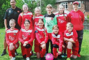 Scarborough Ladies FC are celebrating after being awarded a Grow the Game grant by the Football Foundation
