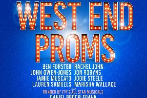 The West End Proms show has been cancelled.