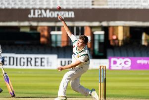 Tom Norman smashed 76 and took 2-20 as Folkton & Flixton edged one step closer to a dream return to Lords. PICTURE BY WILL PALMER