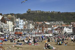 Scarborough in the sunshine