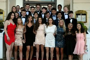 Scarborough College Upper Sixth students recently celebrated the end of their IB exams with their Leavers' Ball at The Crown Spa. Photos by Keith Meatheringham.