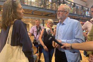 Jeremy Corbyn has backed the Power up the North campaign.