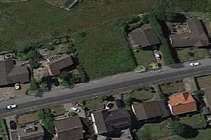 An aerial view of the vacant land. PIC: Google