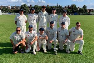 Sherburn won the Division One Cayley Cup, sponsored by Bridlington Dental Studio. PICTURE BY CARL PARKIN.