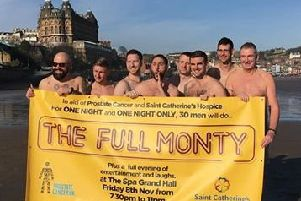 A 30-strong group of fundraisers from Plaxton and Scarborough Rugby Club will be daring to bare all at the charity night.
