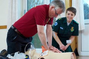First responders are trained by the Yorkshire Ambulance Service.