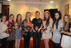 South Yorks girls 'net' trophies
