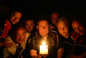 Chris Young and members of the rugby club at Mosborough Miners Welfare club are holding a 'lights-out' hour to mark the centenary anniversary of the start of the First World War.