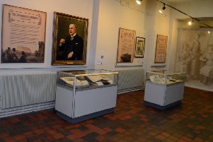 An exhibition at Kelham Island museum running in conjunction with the centenary anniversary of World War I.