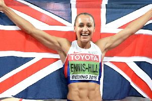 Jessica Ennis-Hill says she won;t compete beyond 2017