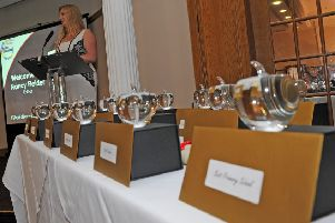 Sheffield Star Editor Nancy Fielder at The Star Best in Education Awards. Picture: Andrew Roe