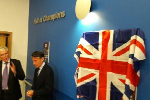 Seb Coe in Sheffield Hall of Champions