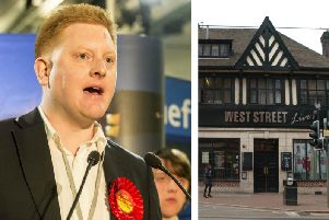 New Labour MP Jared O'Mara co-founded West Street Live in 2008