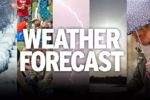 Weather across Derbyshire is expected to become milder.