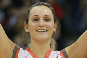 Helen Naylor: 19 -points for Hatters
