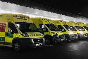Pictured is East Midlands Ambulance Service.