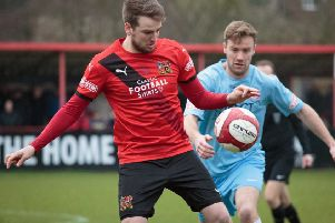 Sheffield FC's Andy Gascoigne. Picture: Ben Webster