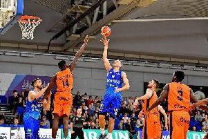 Sheffield Sharks in action
