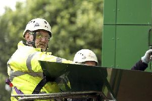The council said the new cladding will be up as soon as possible
