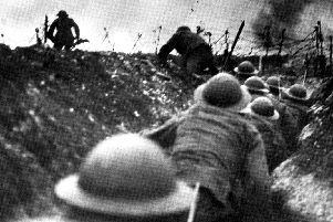 The horror of the trenches in the Great War 1914-18