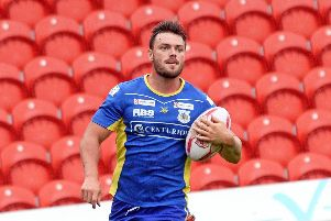 Brad England scored a try for the Dons in their play-off semi-final defeat to Workington