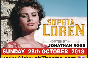 Sophia Loren to talk about her life and meet UK fans at a one-off theatre date with Jonathan Ross