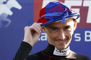 Danny Tudhope, the top northern jockey for the second year running.