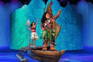 Moana and Maui voyage across the oceans in Disney On Ice presents Dream Big