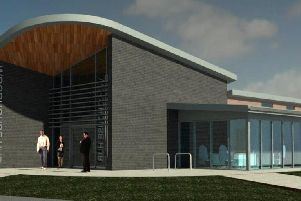 An artist's impression of the new 'hub'