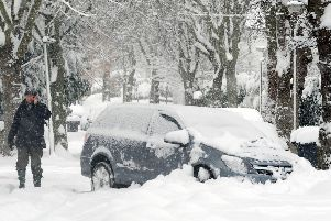 The northern half of the UK has been told to expect the first major snow storm of the winter