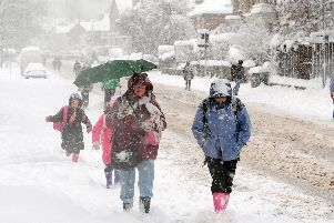 Some areas of Sheffield are likely to see snow this weekend