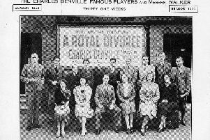 Charles Denville Famous Players, Palace Theatre, Attercliffe, 1939