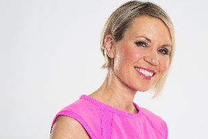 BBC weather presenter Dianne Oxberry who has died aged 51 following a short illness.  Photo: BBC/PA Wire