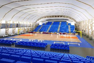 How the Park Community Arena would look.