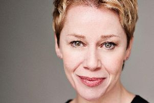 Linzi Hateley, starring in Blood Brothers