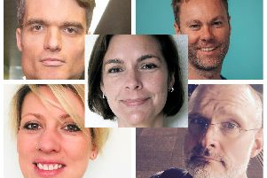 Some of the speakers who will be appearing at #VibrantSheffield Live!