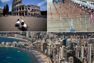 Blue Air has cancelled flights to Rome and Alicante from Liverpool John Lennon Airport
