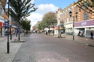 Rotherham town centre. Picture: Google