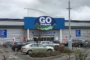 Pictured is Go Outdoors, off Spire Walk, in Chesterfield.