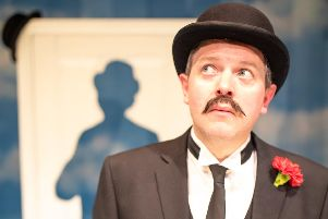 Miles Jupp as Disney actor David Tomlinson in one-man show The Life I Lead