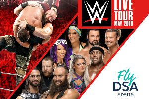 WWE superstars coming to Sheffield FlyDSA Arena