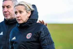 Sheffield United Women's manager Carla Ward: Harry Marshall/Sportimage