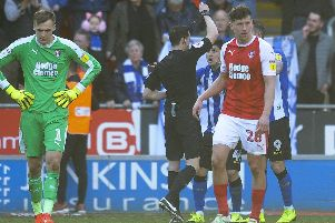 Fernando Forestieri will serve a one-match suspension following his dismissal against Rotherham
