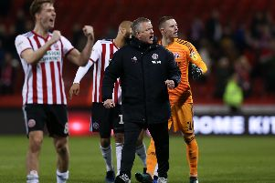 Chris Wilder is leading from the front: James Wilson/Sportimage