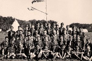 The 11th Pitsmoor Scouts away on camp around 1948. Picture submitted by Robert Grant whose father, Cyril, was a keen scouter. He is the third person from the left on third row from the front