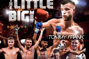 Tommy Frank show poster
